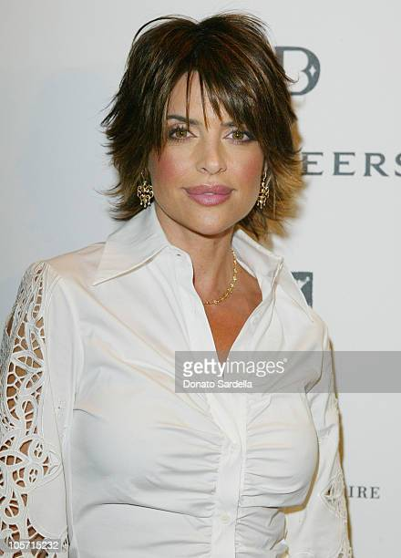 Lisa Rinna during De Beers LV Introduction To Hollywood at Regent Beverly Wilshire in Beverly Hills, California, United States.