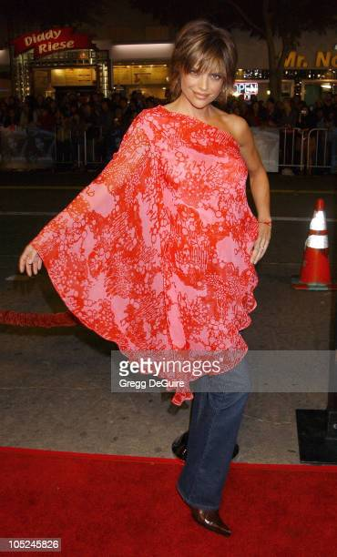 Lisa Rinna during 'Gothika' Premiere Los Angeles at Mann Village Theatre in Westwood California United States