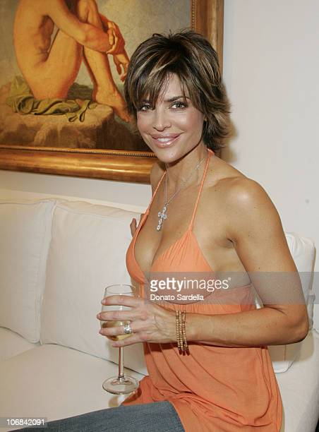 Lisa Rinna during Lisa Rinna and Harry Hamlin Celebrate the Opening of the Second 'belle gray' Boutique Inside at belle gray Boutique in Calabasas...
