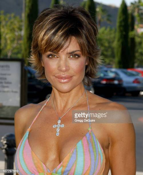 Lisa Rinna during Lisa Rinna and Harry Hamlin Celebrate the Opening of the Second 'belle gray' Boutique Arrivals at belle gray in Calabasas...
