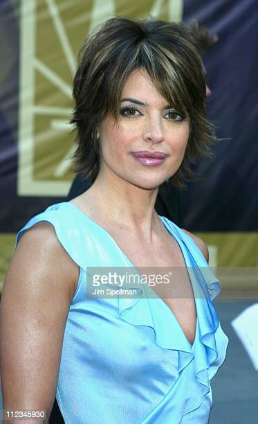 Lisa Rinna during NBC 75th Anniversary at Rockefeller Plaza in New York City New York United States