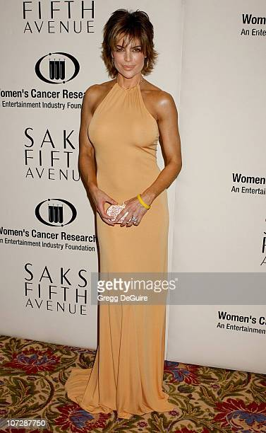 Lisa Rinna during Saks Fifth Avenue's Unforgettable Evening Benefiting Women's Cancer Research Fund Arrivals at The Beverly Wilshire in Beverly Hills...