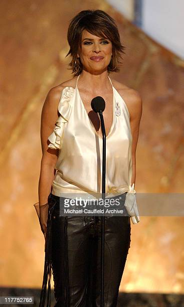 Lisa Rinna during The 4th Annual Women Rock Songs From The Movies Show at The Kodak Theater in Hollywood California United States