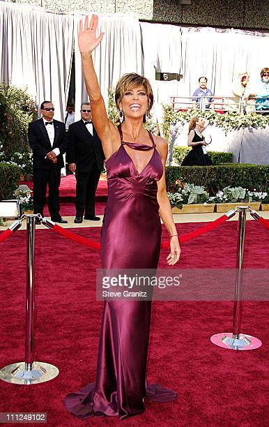 Lisa Rinna during The 78th Annual Academy Awards Arrivals at Kodak Theatre in Hollywood California United States