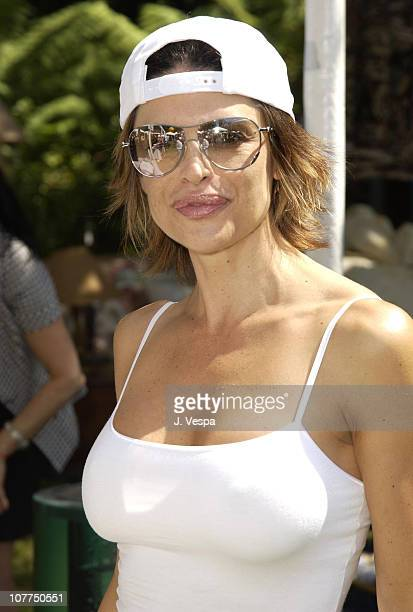 Lisa Rinna during W Magazine and Guess Hollywood Yard Sale to Benefit the Enviromental Media Assoc at Private Home in Brentwood California United...