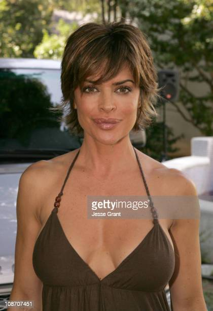 Lisa Rinna during W Magazine Hollywood Yard Sale Arrivals at Private Residence in Brentwood California United States