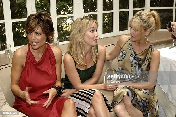 Lisa Rinna in Moschino Brooke Davenport and Heather Locklear in Moschino