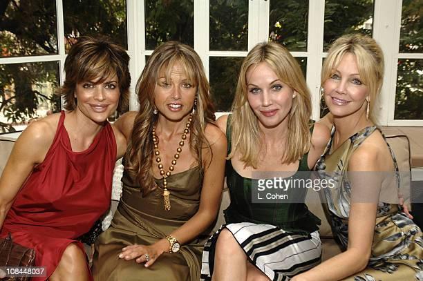 Lisa Rinna in Moschino Rachel Zoe Rosenzweig Brooke Davenport and Heather Locklear in Moschino