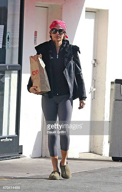 Lisa Rinna is seen leaving CVS Pharmacy on February 19 2014 in Los Angeles California
