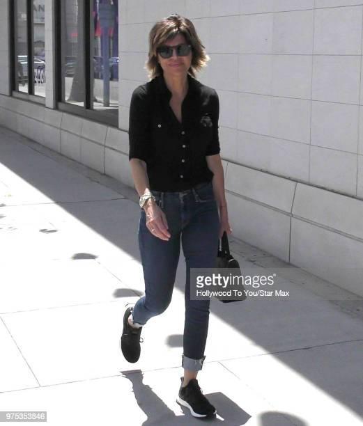Lisa Rinna is seen on June 14 2018 in Los Angeles California