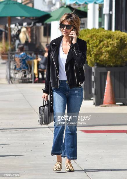 Lisa Rinna is seen on March 09 2018 in Los Angeles California