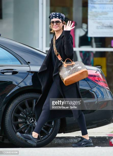 Lisa Rinna is seen on March 12, 2020 in Los Angeles, California.