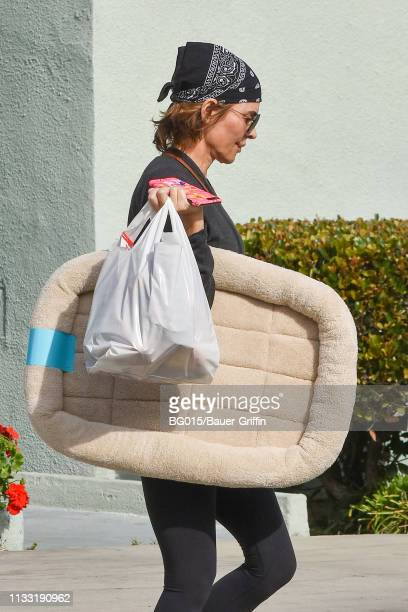 Lisa Rinna is seen on March 27, 2019 in Los Angeles, California.