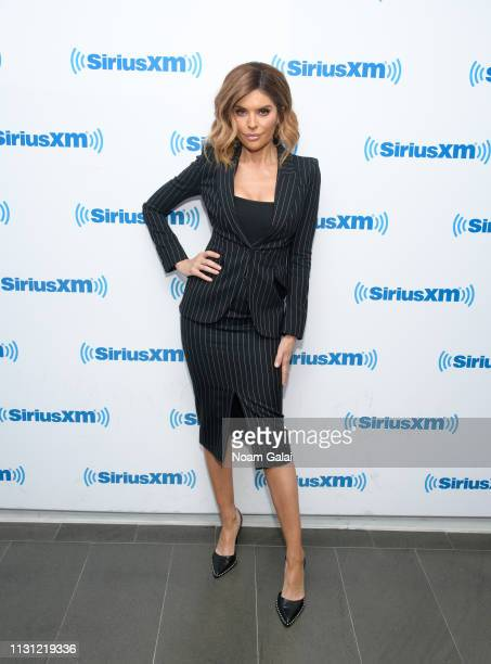 Lisa Rinna visits the SiriusXM Studios on February 21 2019 in New York City