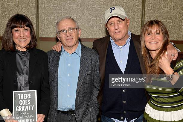 Lisa Robinson Irving Azoff Ron Perelman and Shelli Azoff attend the Shelli And Irving Azoff Ronald Perelman Party to celebrate the publication of...