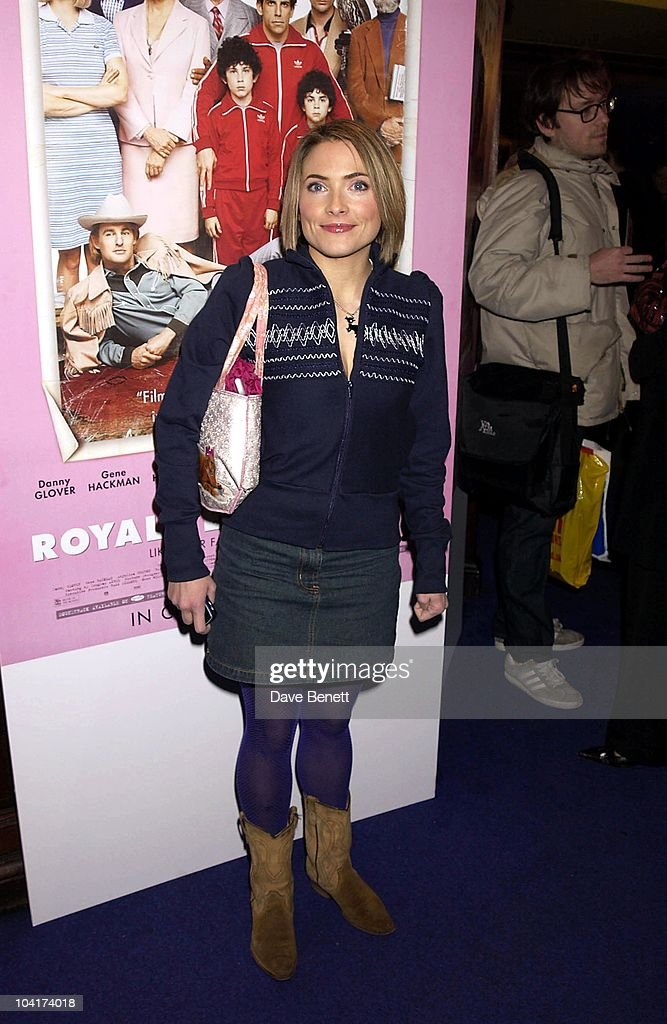 Lisa Rogers, The Premiere Of New American Movie 'The Royal Tenenbaums' At The Ucg Haymarket ,and The Party At 23 Craven St, London