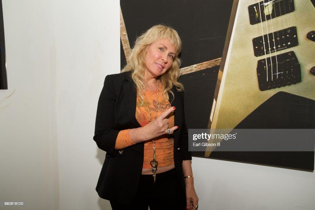 Lisa S. Johnson attends the Malibu Guitar Festival Gallery Opening Reception at Malibu Village on May 12, 2017 in Malibu, California.