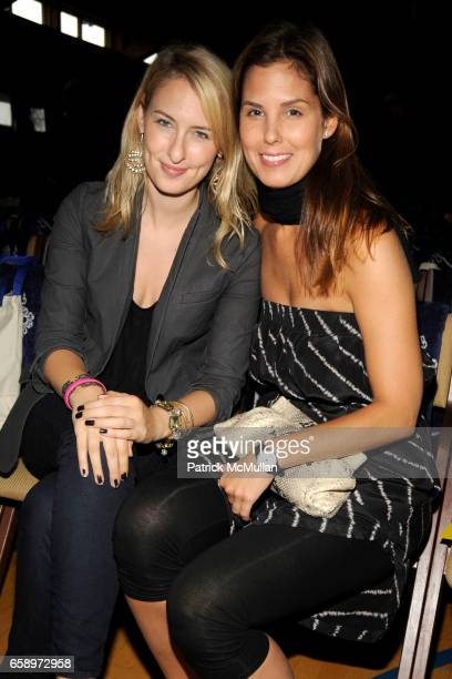 Lisa Salzer and Melissa Skoog attend THE WATERMILL CONCERT 2009 'Last Song of Summer' at Filed House of Ross School on August 29 2009 in...