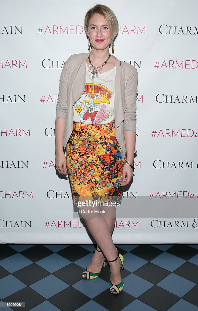 Lisa Salzer attends the Charm & Chain Kaleidoscope Collection Launch at Up & Down on April 23, 2014 in New York City.