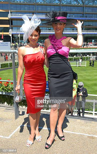 Lisa Scott Lee and Fay Tozer attend Day Two of Royal Ascot on June 16 2010 in Ascot England