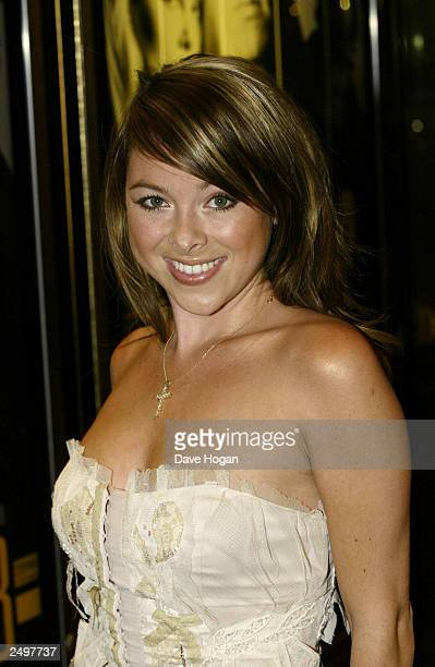 """Lisa Scott Lee attends attends the UK charity premiere of """"The Italian Job"""" at the Empire Leicester Square September 15, 2003 in London, England."""