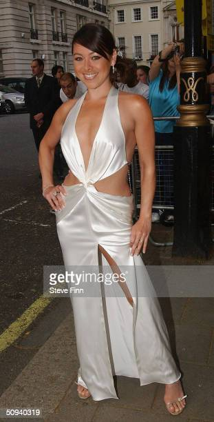 Lisa Scott Lee attends Glamour Magazine's Women Of The Year Awards celebrating achievements of women at Berkeley Square Gardens on June 8 2004 in...