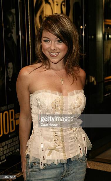 """Lisa Scott Lee attends the UK charity premiere of """"The Italian Job"""" at the Empire, Leicester Square on September 15, 2003 in London."""