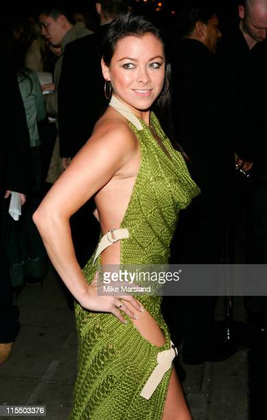 Lisa Scott Lee during Gizmondo MultiMedia Handheld Launch Party Arrivals at Park Lane Hotel in London United Kingdom