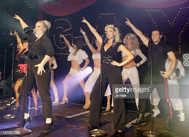 Lisa ScottLee Claire Richards Faye Tozer and Lee LatchfordEvans of Steps performs at GAY on March 17 2012 in London England