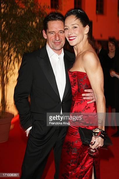Lisa Seitz Und Ehemann Max Tidof Bei Der 5 Fundraising Gala Zugunsten Der Mcdonald'S Kinderhilfe Stiftung Im Postpalast In München Am 221108