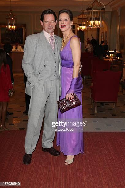 Lisa Seitz Und Max Tidof Bei Der Verleihung Der Gala Spa Awards 2008 In BadenBaden
