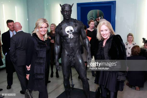 Lisa Selby and Amy Hoadley attend GEOFFREY BRADFIELD'S 'THE QUICK AND THE DEAD' Opening at Sebastian Barquet Gallery on November 1st 2010 in New York...