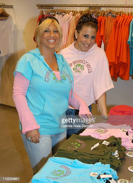 Lisa Shaller Goldberg and Jaime Gleicher during Camp Beverly Hills Relaunch at Scoop NYC at Scoop NYC in New York City New York United States