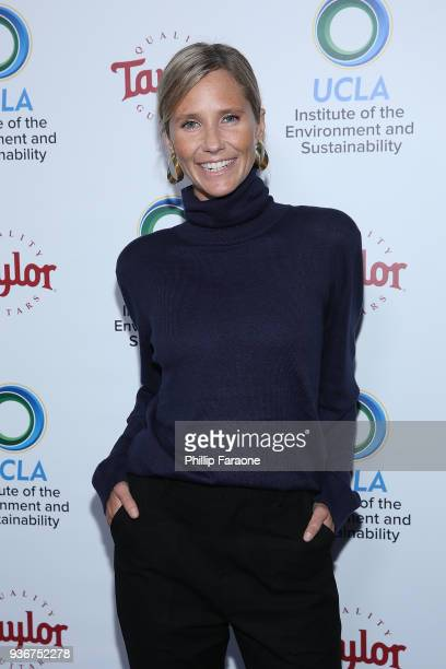 Lisa Sheldon attends UCLA's 2018 Institute of the Environment and Sustainability Gala on March 22 2018 in Beverly Hills California
