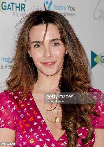 Lisa Sheridan attends the premiere of 'Only God Can' at Laemmle NoHo 7 on March 22 2016 in North Hollywood California