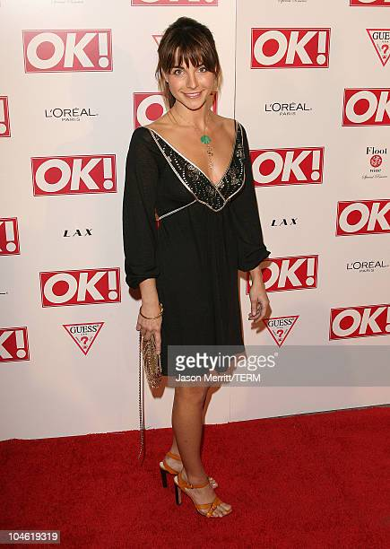 Lisa Sheridan during Ok Magazine US Debut Launch Party Arrivals at LAX in Hollywood California United States