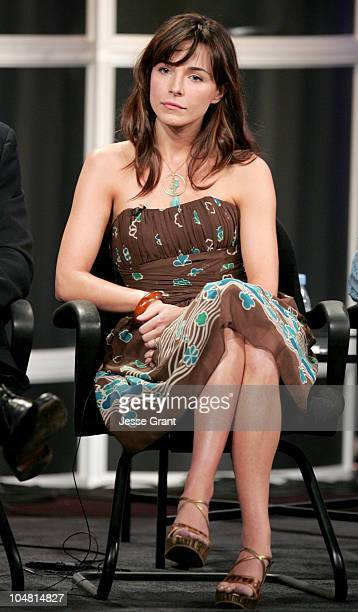 Lisa Sheridan of Invasion during ABC 2005 Press Tour Day 2 at Beverly Hilton in Beverly Hills California United States