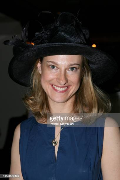 Lisa Sivy attend MichelleMarie Heinemann and Terri Lindvall's 'Bloody Mary and Belini Hat Party' at Bar Pleiades on May 5th 2010 in New York City