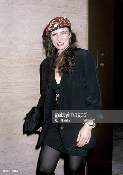 Lisa Sliwa during An Evening With Allen Jay Lerner at Lincoln Center in New York City New York United States