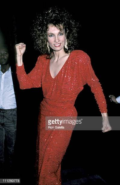 Lisa Sliwa during Demonstration for the Guardian Angels at Club Monaco in New York City New York United States