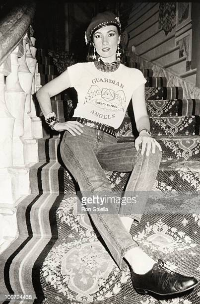 Lisa Sliwa during Lisa Sliwa at Visage August 12 1985 at Visage in New York City New York United States