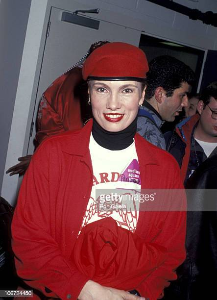 Lisa Sliwa during Saturday Night Live After Party January 16 1993 at Paramount Hotel in New York City New York United States