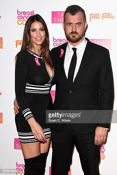 Lisa Snowden and George Smart attend the Breast Cancer Care London Fashion Show in association with Folli Follie 2016 at Park Plaza Westminster...