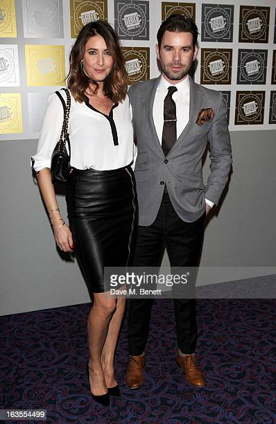 Lisa Snowdon and Dave Berry arrive at the TRIC Television and Radio Industries Club Awards at The Grosvenor House Hotel on March 12 2013 in London...