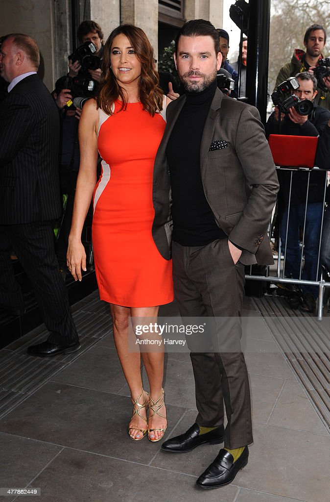 Lisa Snowdon and Dave Berry attend the 2014 TRIC Awards at The Grosvenor House Hotel on March 11, 2014 in London, England.