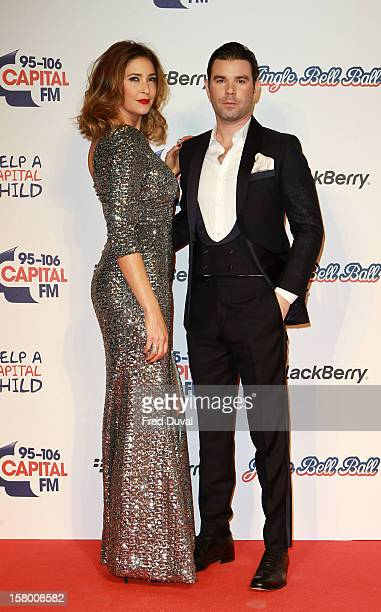 Lisa Snowdon and Dave Berry attend the Capital FM Jingle Bell Ball at 02 Arena on December 8 2012 in London England