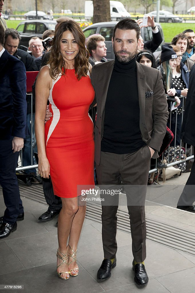 Lisa Snowdon and Dave Berry attends the 2014 TRIC Awards at The Grosvenor House Hotel on March 11, 2014 in London, England.