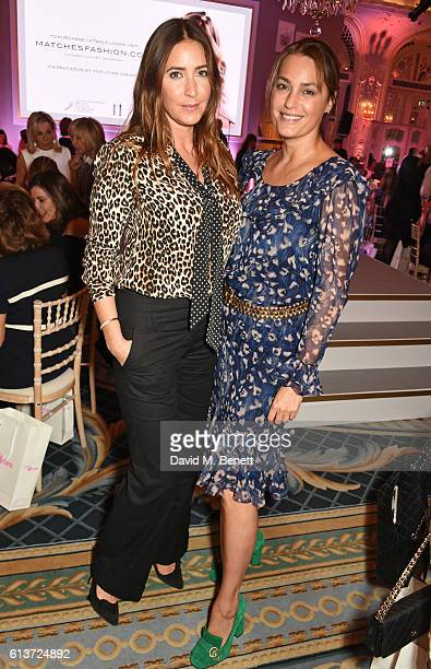 Lisa Snowdon and Yasmin Le Bon attend the Future Dreams 'United For Her' Ladies Lunch 2016 at The Savoy Hotel on October 10 2016 in London England