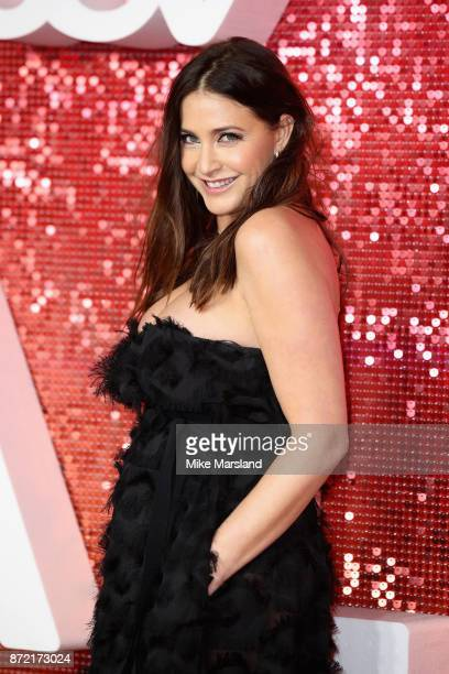 Lisa Snowdon arrives at the ITV Gala held at the London Palladium on November 9 2017 in London England