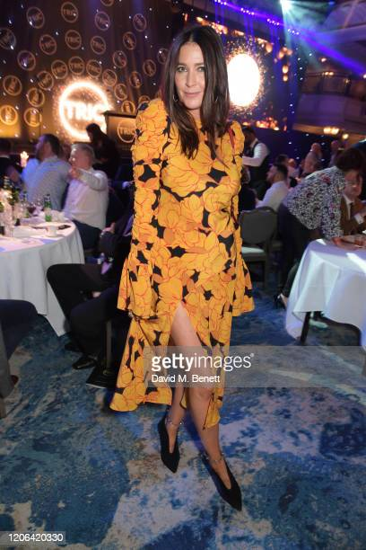 Lisa Snowdon arrives at the TRIC Awards 2020 at The Grosvenor House Hotel on March 10, 2020 in London, England.